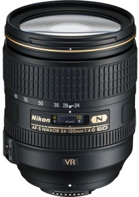 Nikon AF-S NIKKOR 24 - 120 mm f/4G ED VR Lens  Lens(Black)