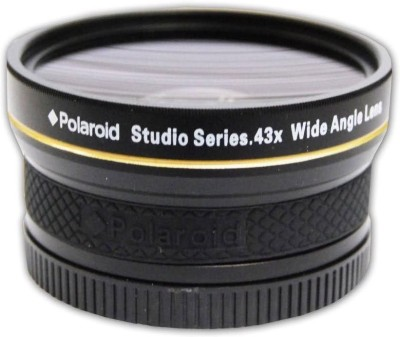Polaroid .43X High Definition Wide Angle Lens With Macro Attachment  Lens(Black)