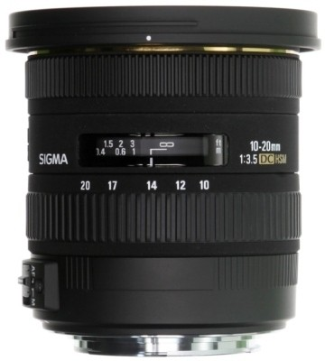 Sigma 10-20mm F3.5 EX DC Lens  Lens for Canon EF Mount(Black, 150 - 600) at flipkart