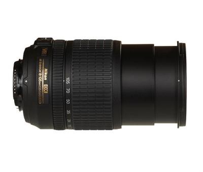 Nikon AF-S DX Nikkor 18 – 105 mm f/3.5-5.6G ED VR Lens  Lens(Black)
