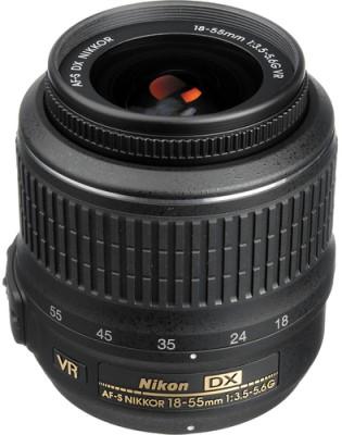 Nikon AF-P DX Nikkor 18 - 55 mm f/3.5-5.6G VR (3.0x) Lens Lens(Black) 1