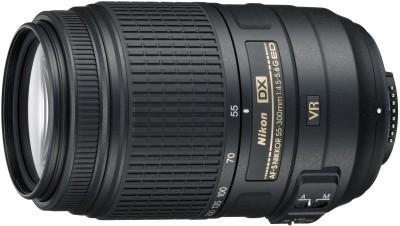 Nikon AF-S DX NIKKOR 55 - 300 mm f/4.5-5.6G ED VR   Lens(Black, 18-200)