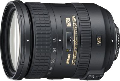 Nikon AF-S DX NIKKOR 18 - 200 mm f/3.5-5.6G ED VR II Lens  Lens(Black) 1
