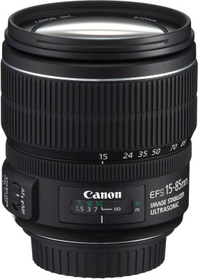 Canon EF-S 15 - 85 mm f/3.5-5.6 IS USM Lens  Lens(Black) 1