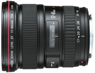 Canon EF 17 - 40 mm f/4L USM Lens� Lens(Black, 55-250) 1