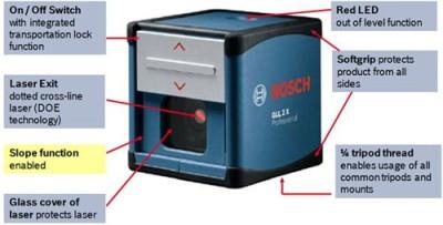 Bosch-GLL-2X-Professional-Crossline-Laser