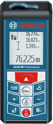 Bosch GLM 80 Professional Laser Measuring Tool Non-magnetic Engineer's Precision Level(11.1 cm)  available at flipkart for Rs.9790