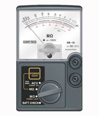 KM-81-Analog-Insulation-Tester-