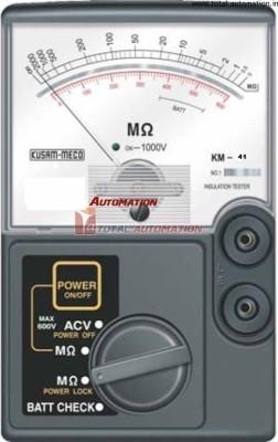 Kusam-Meco-KM-41-500V-Analog-Insulation-Tester