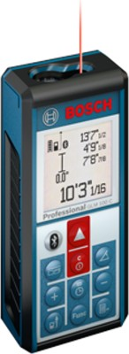 Bosch GLM 100 C Laser Measuring Tool Non-magnetic Engineer's Precision Level(11.11 cm)  available at flipkart for Rs.11790