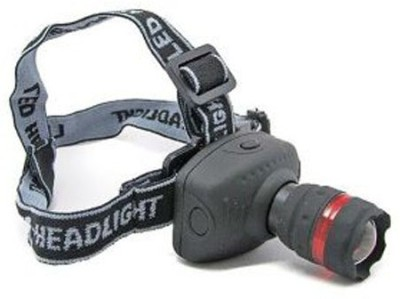 Divinext Head Light Flash Light LED Zoom Head Light Head Lamp High Power Long Range LED Headlamp Multicolor