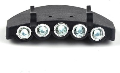 Futaba Clip On Outdoor Camping LED Headlamp Black Futaba Lights