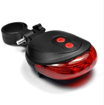 Schrodinger Bicycle Laser Tail Light LED Rear Break Light(Red)  available at flipkart for Rs.174