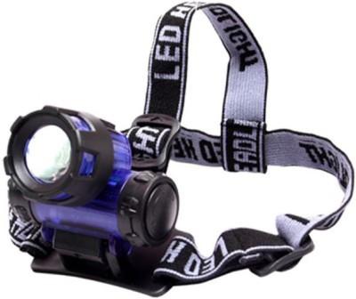 Divinext High Power Long Range LED Zoom FlashLight LED Headlamp(Multicolor)  available at flipkart for Rs.380