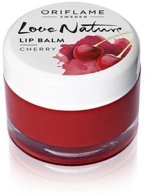 Oriflame Sweden Love Nature Lip Balm - Cherry Cherry(7 g)  available at flipkart for Rs.328