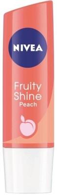 Nivea Fruity Shine Peach Fruity(4.8 g)