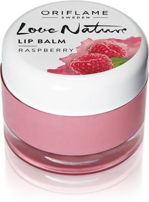 Oriflame Sweden Love Nature Lip Balm Raspberry(7 g)  available at flipkart for Rs.299