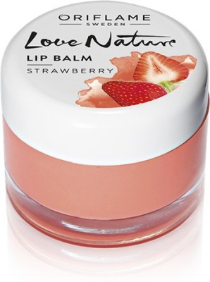 Oriflame Sweden Love Nature Lip Balm STRAWBERRY(7 g)  available at flipkart for Rs.296