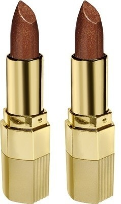 BLUE HEAVEN Xpression Lipstick  Set of 2 pc   Scorchy Bronze 42, 4 g BLUE HEAVEN Lipstick