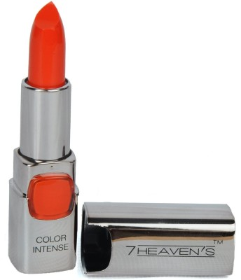 7 Heaven's Color Intense lipstick (601-Sinful Orange)(3.8 g, shade-601)  available at flipkart for Rs.165