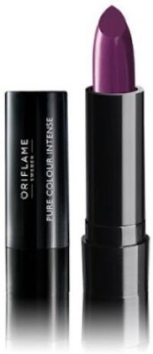 Oriflame Sweden Pure Colour Intense Lipstick(2.5 g, Pretty Purple)  available at flipkart for Rs.119