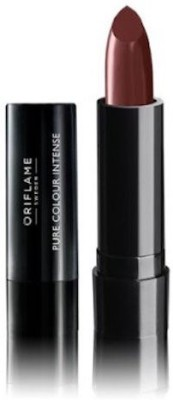 Oriflame Sweden Pure Colour Intense Lipstick(2.5 g, Cocoa Brown)  available at flipkart for Rs.159