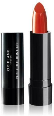 Oriflame Sweden Pure Colour Intense Lipstick(2.5 g, rusty red)  available at flipkart for Rs.199