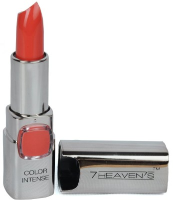 7 Heaven's Color Intense lipstick 3.8 g(604-Apricot)(3.8 g, shade-604)  available at flipkart for Rs.160