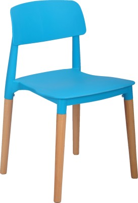 AdevWorld Fabric Outdoor Chair(Finish Color - BLUE)