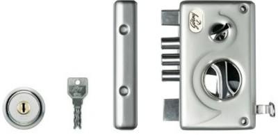 Godrej EVVA Pentabolt 1CK Satin Nickel Lock(Silver)
