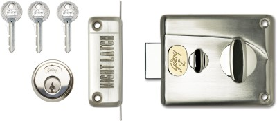Godrej Premium Night 1ck Lock(Silver)