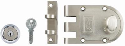 Godrej Ultra Vertibolt Brushed Steel 1CK Lock(Brown)
