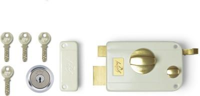 Godrej Ultra Twin Bolt 1ck Lock(Silver, Gold)