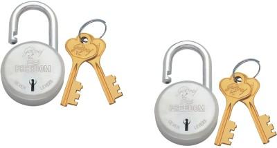 Godrej Freedom 7 Lever Lock(Silver, Gold)