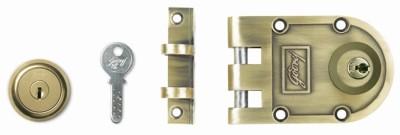 Godrej Ultra Vertibolt Antique Brass 2C Lock(Brown)
