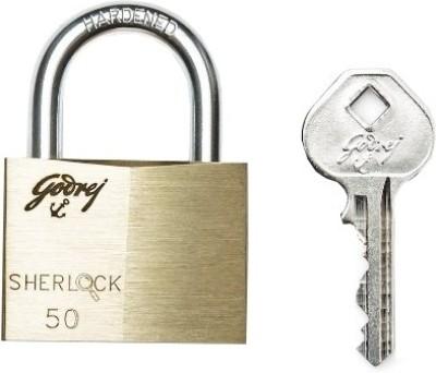 Godrej Sherlock 50 mm -Carton Lock(Gold, Silver)  available at flipkart for Rs.570