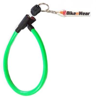 ERCO Heavy Duty Multi-Purpose Green Cable Lock(Green)