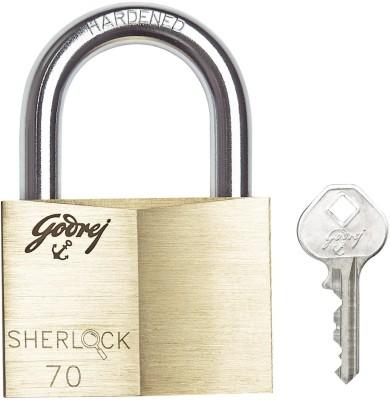 Godrej Sherlock 70 mm - Blister Lock(Gold, Silver)
