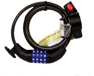Probike LO-0092 Combination Lock(Black)
