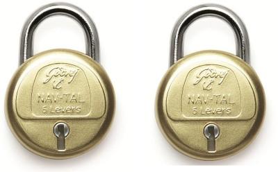 Godrej Navtal 6 Levers Lock(Gold)