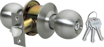 Godrej Cylindrical - Ss Finish - Premium Lock(Gold, Silver)