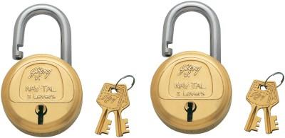 Godrej Navtal 5 Lever_1 Lock(Gold)