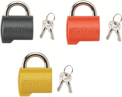 Godrej Mylock Candy Lock(Red, Yellow, Black)