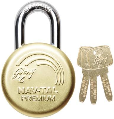 Godrej NAVTAL PREMIUM DELUXE HARDENED Padlock(GOLDEN)