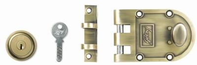 Godrej Ultra Vertibolt Antique Brass 1CK Lock(Brown)