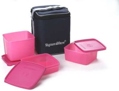 Signoraware 517 Director Special Medium 3 Containers Lunch Box