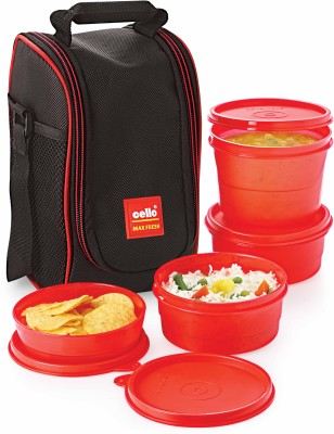 Cello 0000000 4 Containers Lunch Box
