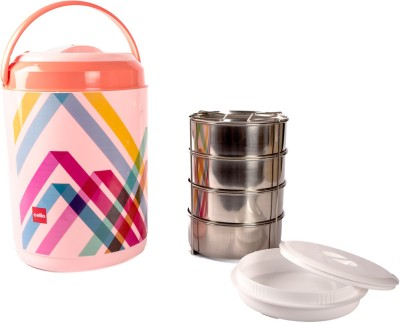 Cello 134622 4 Containers Lunch Box(1000 ml)