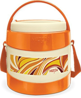 Milton 134255 2 Containers Lunch Box(400 ml) at flipkart