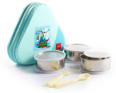 Cello Eat N Eat 3 Containers Lunch Box(300 ml)